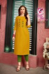 Kurti times Mausum beautiful collection of colorful Kurties at wholesale price