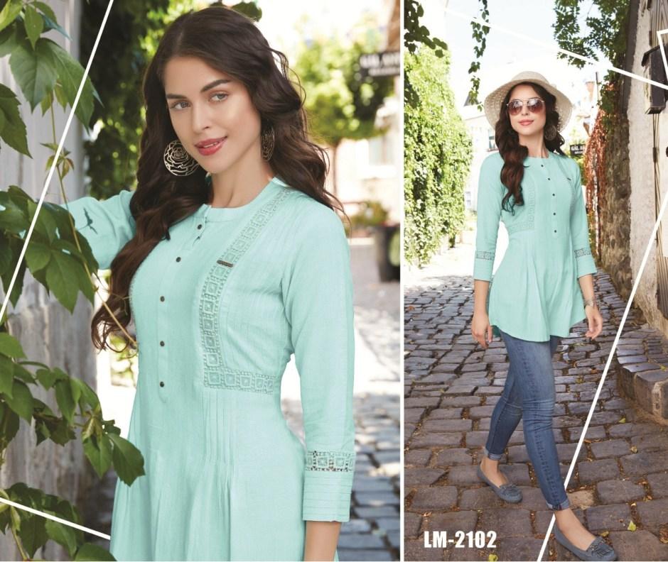 Lymi originals esteem vol 2 fancy rayon short tops collection