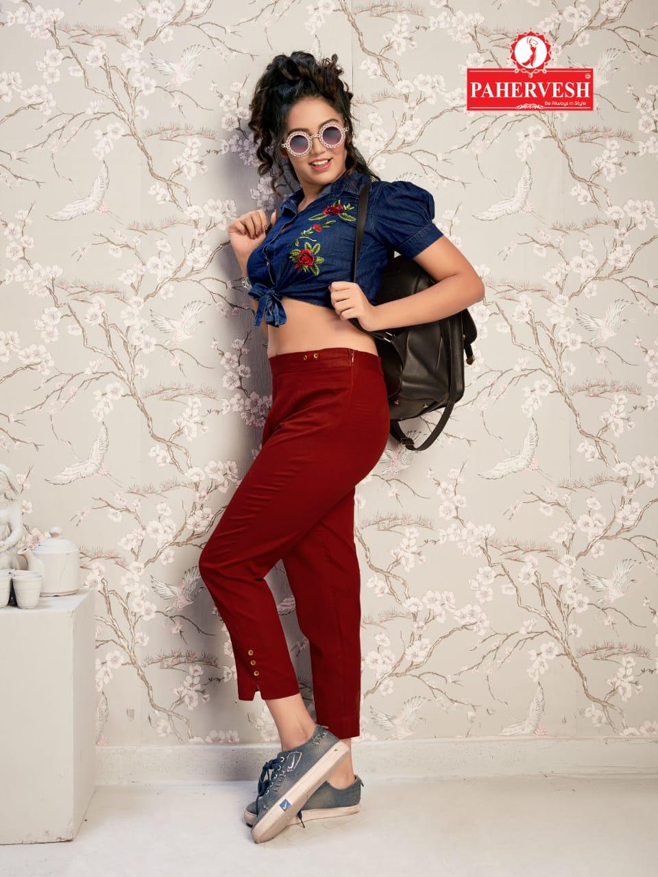 Pahervesh venus Fancy collection of flax Pants