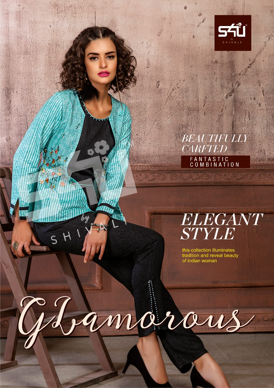 S4u by shivali Glamorous kurti with pant and plazzo collection at wholesale rate