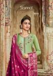 Sanna Silk Jacquard premium collection of Salwar suit