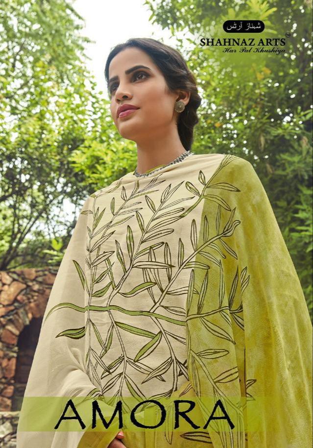 Shahnaz arts amora bright colors salwar kameez collection