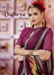 Vallabhai prints vidheya Beautiful fancy colorful saress