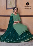 Kalarang creation ghummar launched pure cotton Kali style with heavy embroidery work at wholesale price
