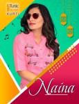 Neha fashion naina daily wearable colourful kurties at wholesale Rates