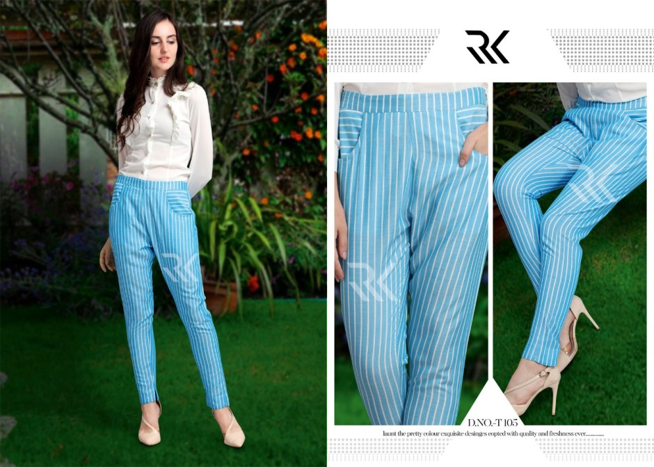 Rk clothing stripes pants collection at wholesale rate dealer