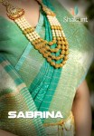 Shakunt weaves sabrina colourful festive wear sarees collection Wholesale supplier