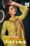 Alok suit navika elagant Style gorgeous stunning look beautifully designed Salwar suits