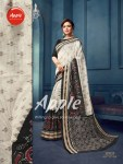 apple womaniya Bhagalpuri silk affordable price sarees catalog
