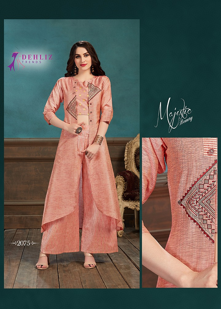 dehliz trends selfie vol-3 a new and amazingly designed three piece concept trendy fits kurties