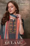 Feminista Gulaal elegant Style cotton handloom with hand Embroided Kurties
