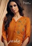feminista jashn 2 decent embroidery kurti catalog