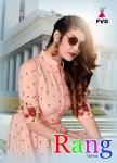 Fvd rang vol 2 reyon gorgeous look long kurti catalog
