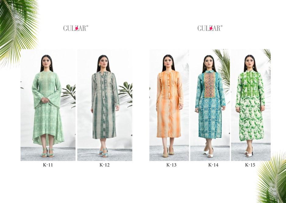 gulzar k series vol-2 stunning look classic style kurties