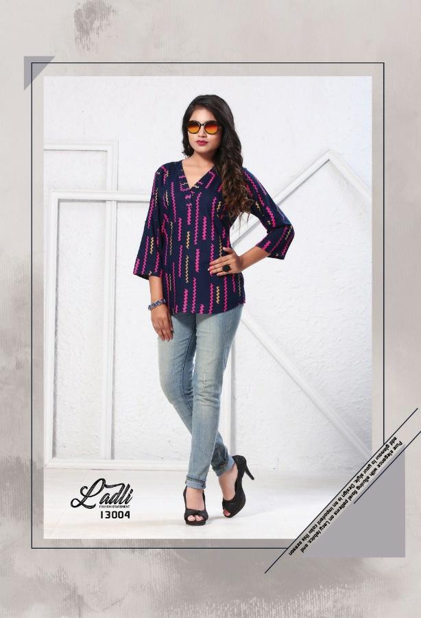 Jadu Ladli classy catchy look tops in wholesale prices