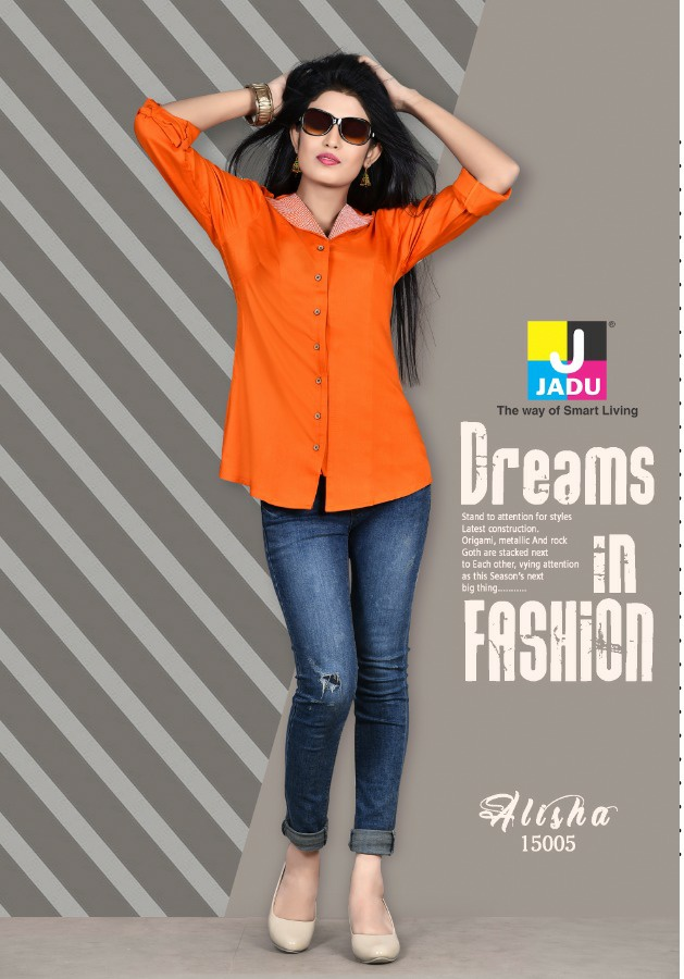 Jadu Quincy trendy fits beautiful shirts in low prices