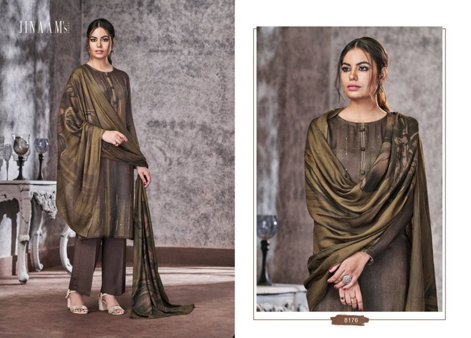 jinaam emery stunning look beautifully designed colorful collection of salwar suit