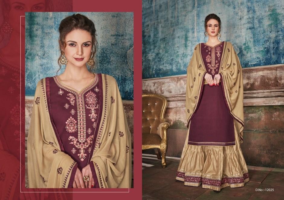 kalaroop rubby vol 2  top with exclusive lehenga salwar kameez catalog