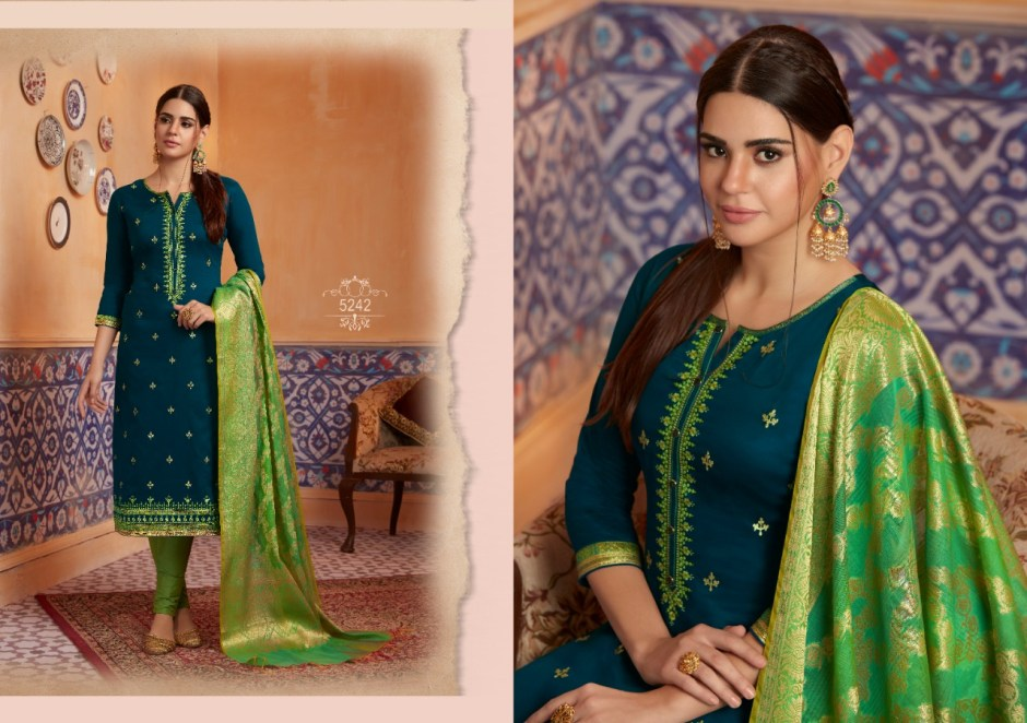 Kessi Fabrics mahotsav vol-4 classy catchy look beautifully designed Salwar suits in factory prices