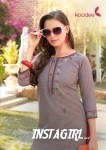 koodee instagirl vol 4 kurti with pants fancy collection