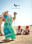 l t fashion saubhagya silk cotton attrective colours sarees catalog