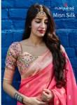 manjubaa misri silk  gorgeous look saree catalog