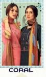 Nakoda Designer coral lawn designer print With Embroided Salwar suits catalog