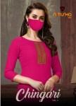Nitisha nx chingari vol 2 casual wear affordable price kurties online supplier