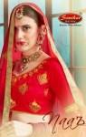 Sanskar Style Naaz gorgeous stunning look silk Lehenga With work Blouse and duppata