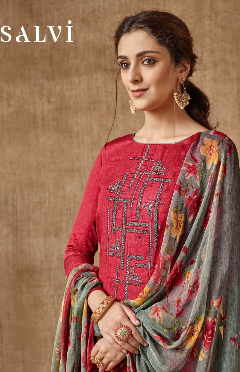 Sargam prints salvi Astonishing and modern Stylish look Salwar suits