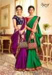 Saroj Charulata a new and stylish look sarees in factory prices
