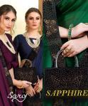 Saroj Sapphire amazing style sarees in factory prices