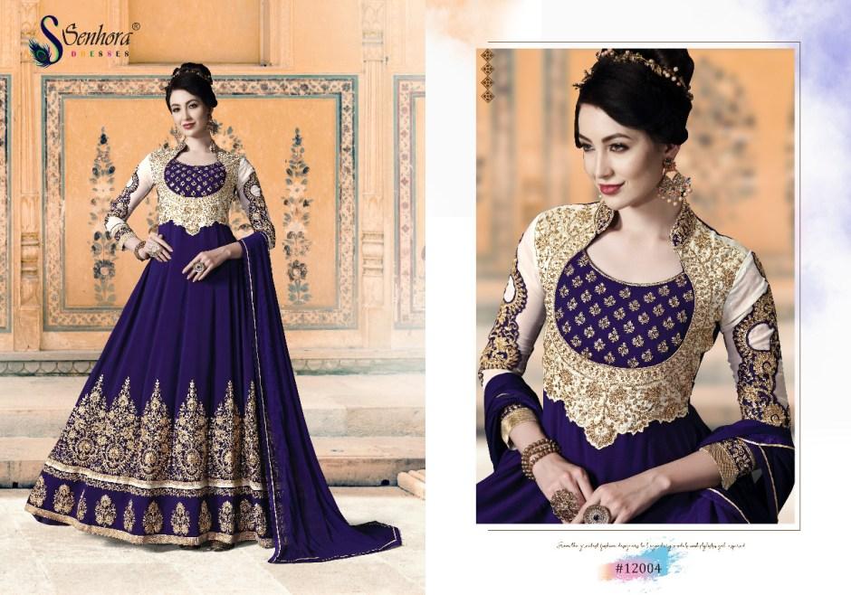 Senhora dresses Bella senhora vol-12 elegant look beautifully designed Salwar suits in factory prices