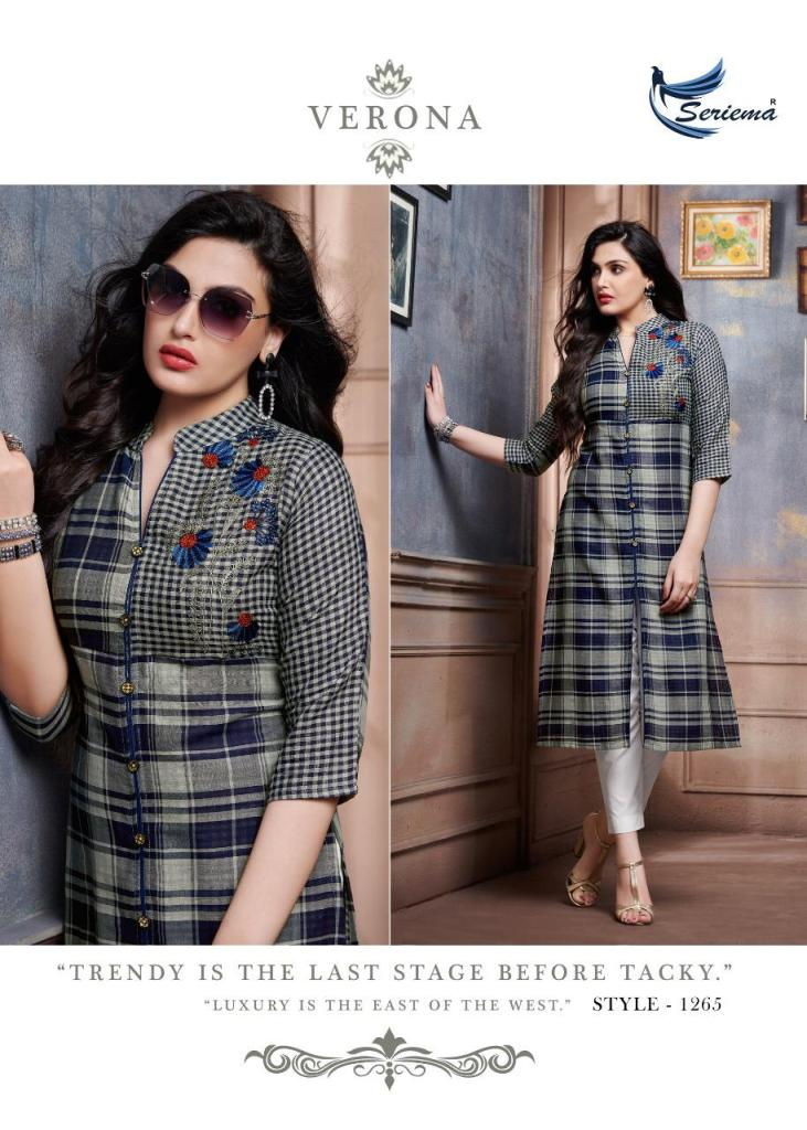 Seriema likem classy catchy look Kurties in wholesale
