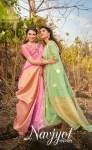 Shakunt weaves Navjyot astonishing style beautifully designed Sarees