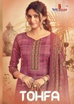 tunic house tohfa pashmina elegant salwar suit catalog