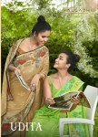 Vallabhi prints udita innovative style beautifully designed Sarees catalog