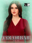Vee Fab india colorbar vol-2 a new and stylish trendy look Gowns