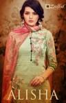 Zulfat Designer Alisha innovative style beautifully designed modern Trendy Salwar suits