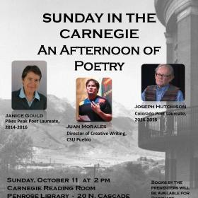 Free Poetry! In Colorado Springs on Sunday, October 11