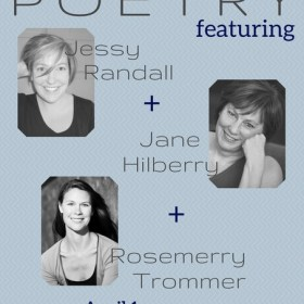 Hilberry and Randall and Trommer (Oh My)—Don't Miss This April 1 Reading at BookBar!