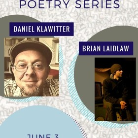 Join Us for Poetry with Daniel Klawitter and Brian Laidlaw!