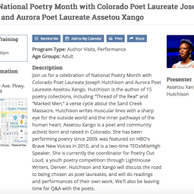 Kick Off Poetry Month with a Laureate-Po-Looza