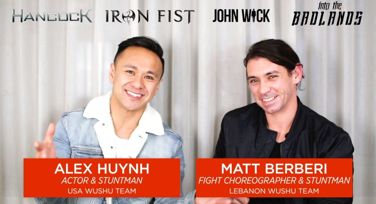 Alex Huynh and Matt Berberi: Wushu and Stunts