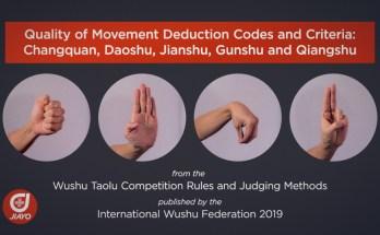 Wushu Changquan Hand Forms