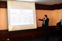 Mr.Hussein giving presentation