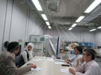 الفريق الياباني يناقش مع الفريق المصري خطة العمل