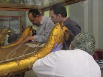 First aid to tut's ritual bed in order to transport it to GEM
