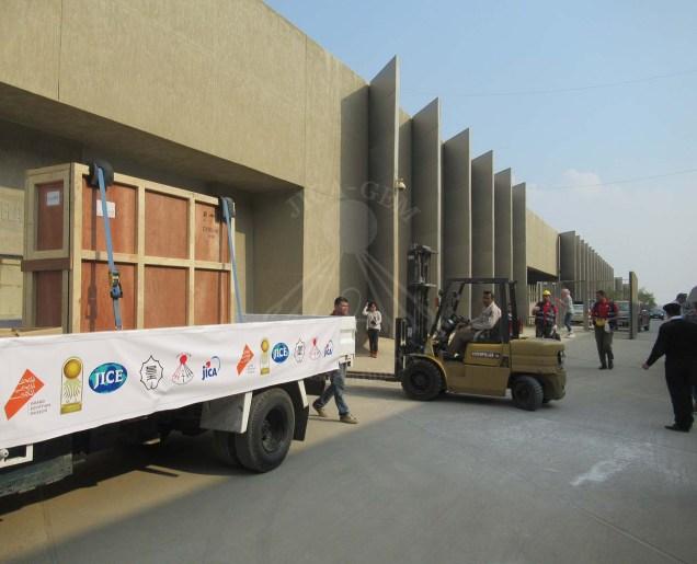 the murals reach the GEMCC safely