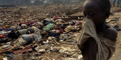 Rwanda slavery, Congo genocides